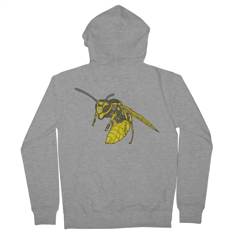 Drone Wasp Women's Zip-Up Hoody by shinobiskater's Artist Shop