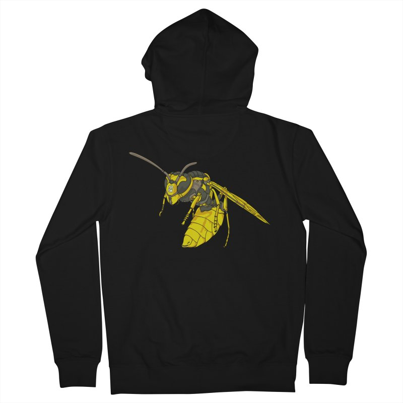 Drone Wasp Women's Zip-Up Hoody by shinobiskater's Artist Shop