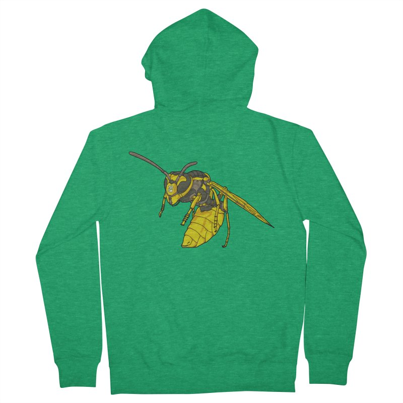 Drone Wasp Men's Zip-Up Hoody by shinobiskater's Artist Shop