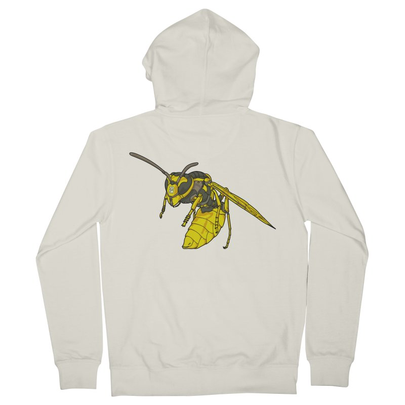 Drone Wasp Men's Zip-Up Hoody by shinobiskater's Artist Shop