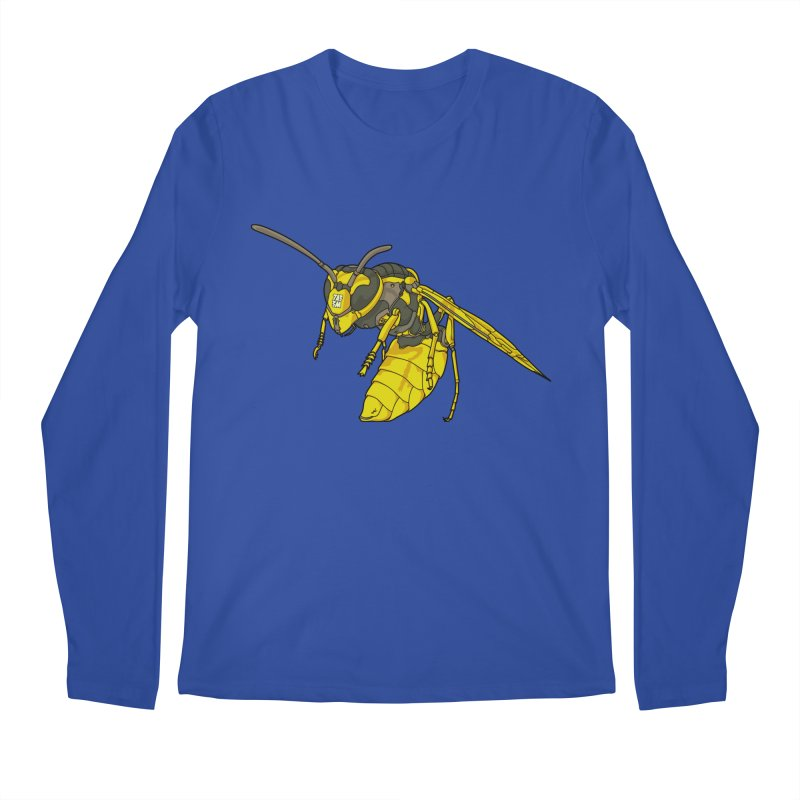 Drone Wasp Men's Longsleeve T-Shirt by shinobiskater's Artist Shop