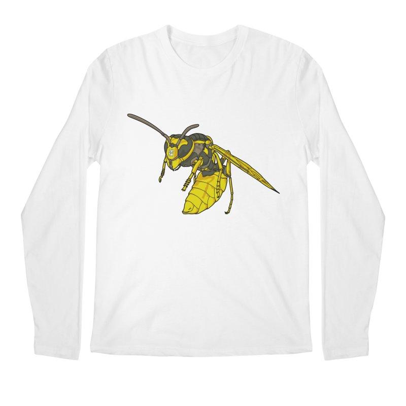 Drone Wasp Men's Longsleeve T-Shirt by shinobiskater's Artist Shop