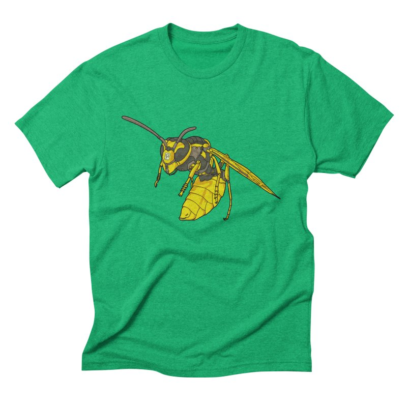 Drone Wasp Men's Triblend T-Shirt by shinobiskater's Artist Shop