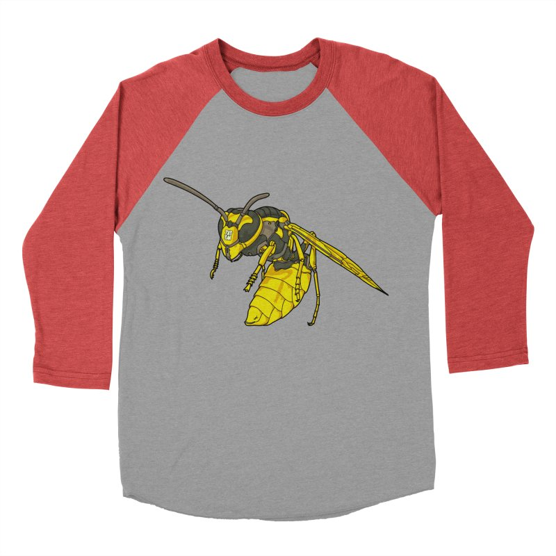 Drone Wasp Men's Baseball Triblend T-Shirt by shinobiskater's Artist Shop
