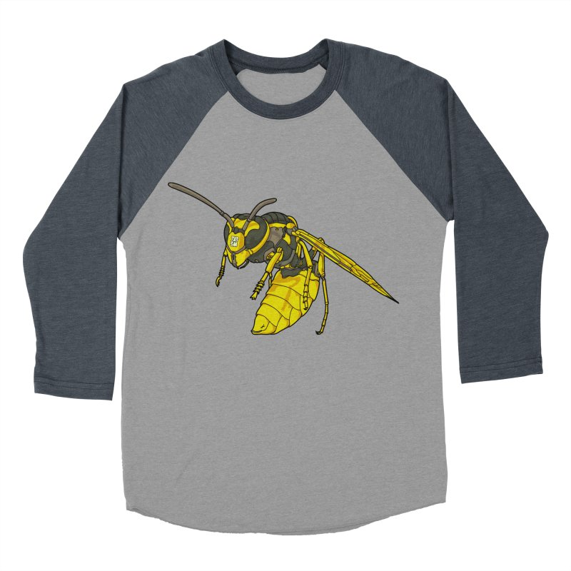 Drone Wasp Men's Baseball Triblend T-Shirt by shinobiskater's Artist Shop
