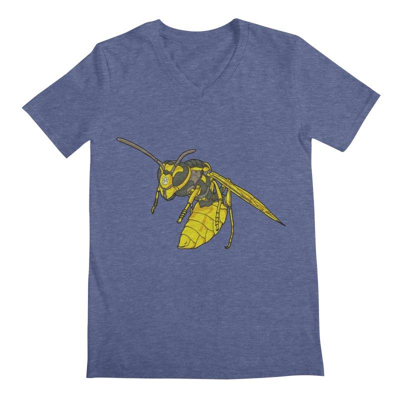 Drone Wasp Men's V-Neck by shinobiskater's Artist Shop