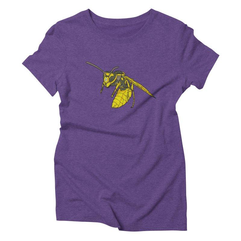 Drone Wasp Women's Triblend T-Shirt by shinobiskater's Artist Shop