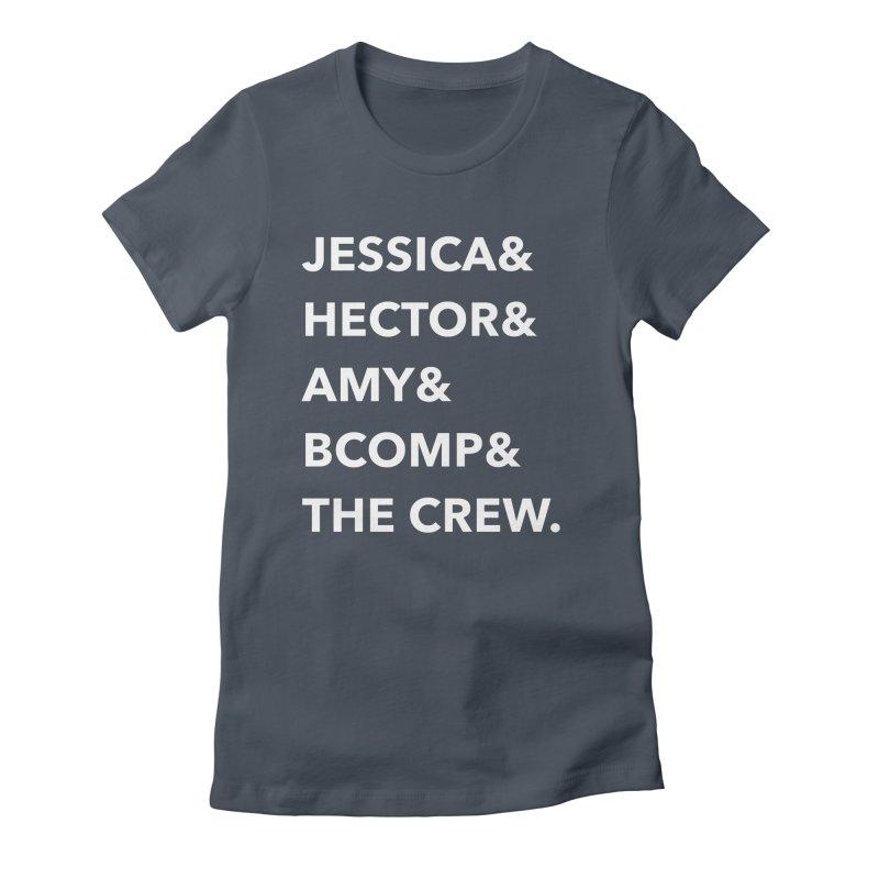 Names Women's T-Shirt by shipmatecollective's Artist Shop