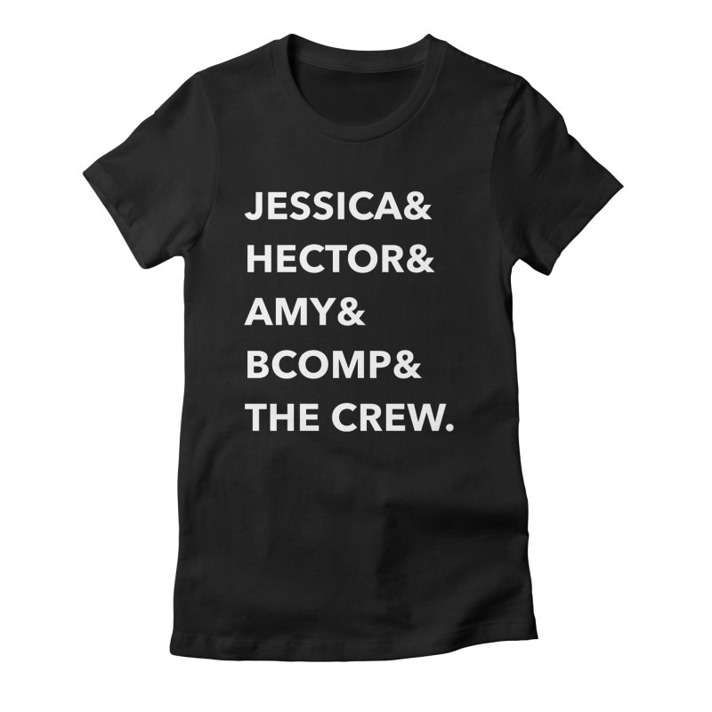 Names Women's Fitted T-Shirt by shipmatecollective's Artist Shop