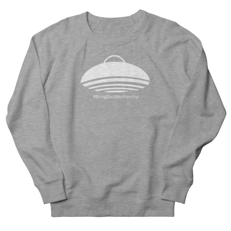 Logo (White) Women's French Terry Sweatshirt by shipmatecollective's Artist Shop
