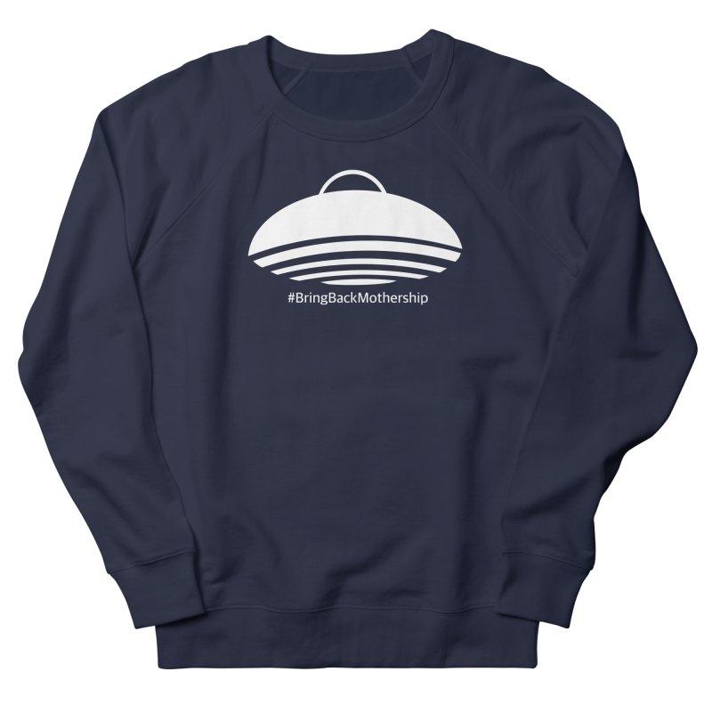 Logo (White) Men's French Terry Sweatshirt by shipmatecollective's Artist Shop