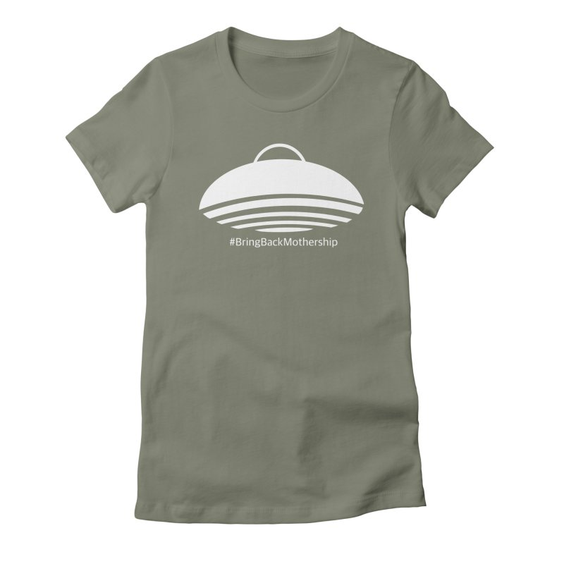 Logo (White) Women's Fitted T-Shirt by shipmatecollective's Artist Shop