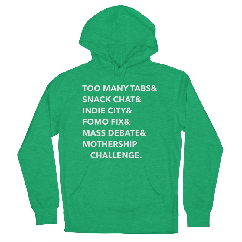 SEGMENTS 2.0 Women's French Terry Pullover Hoody by shipmatecollective's Artist Shop