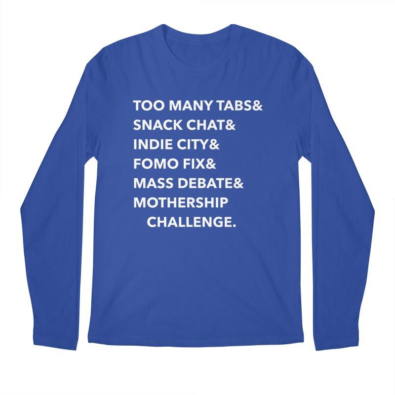 SEGMENTS 2.0 Men's Regular Longsleeve T-Shirt by shipmatecollective's Artist Shop