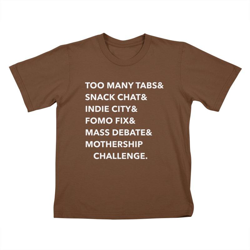 SEGMENTS 2.0 Kids T-Shirt by shipmatecollective's Artist Shop