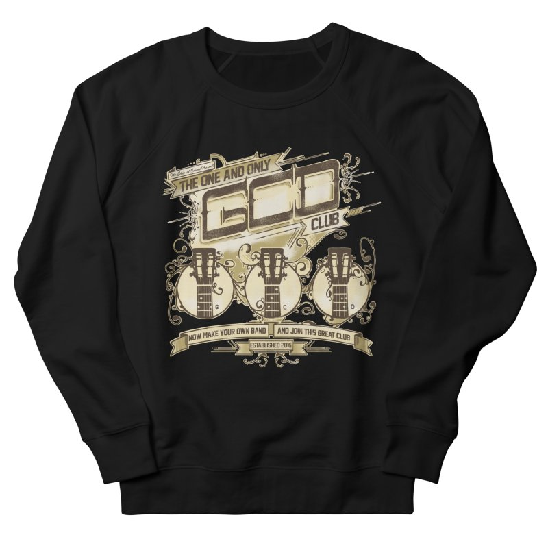 The Great Club Men's French Terry Sweatshirt by JQBX Store - Listen Together