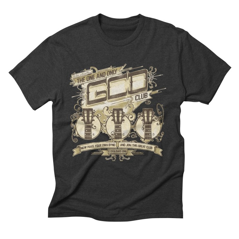 The Great Club Men's Triblend T-Shirt by JQBX Store - Listen Together
