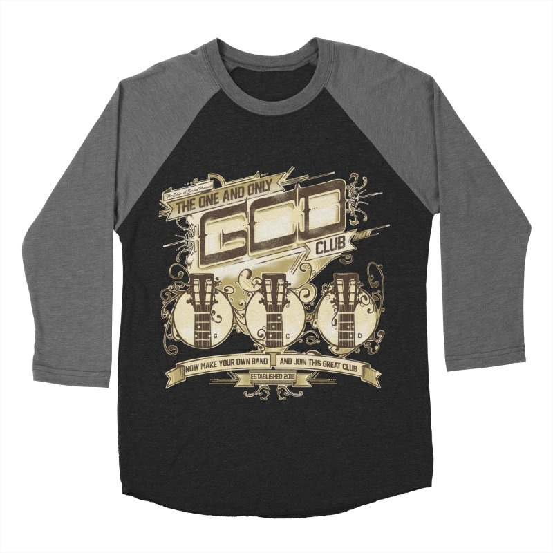 The Great Club Women's Baseball Triblend Longsleeve T-Shirt by JQBX Store - Listen Together