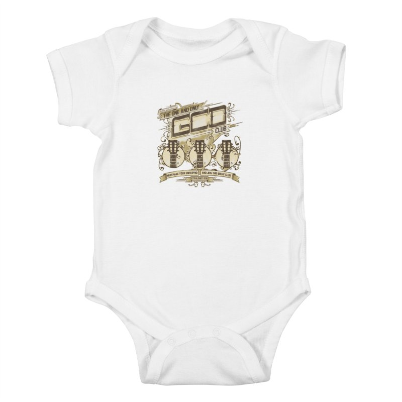 The Great Club Kids Baby Bodysuit by JQBX Store - Listen Together