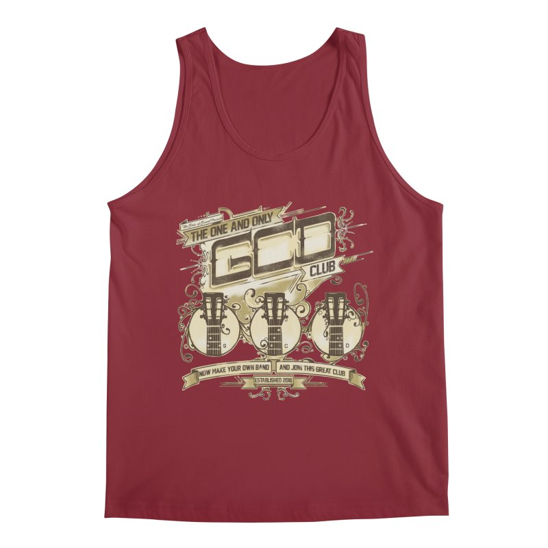 The Great Club Men's Tank by JQBX Store - Listen Together