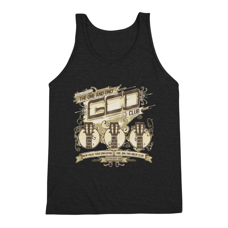 The Great Club Men's Triblend Tank by JQBX Store - Listen Together