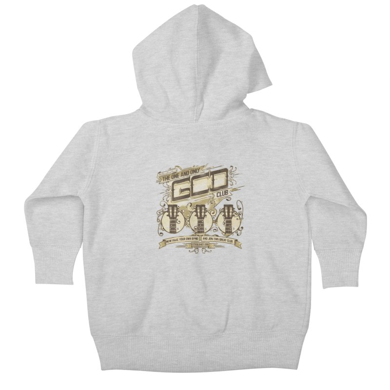 The Great Club Kids Baby Zip-Up Hoody by JQBX Store - Listen Together