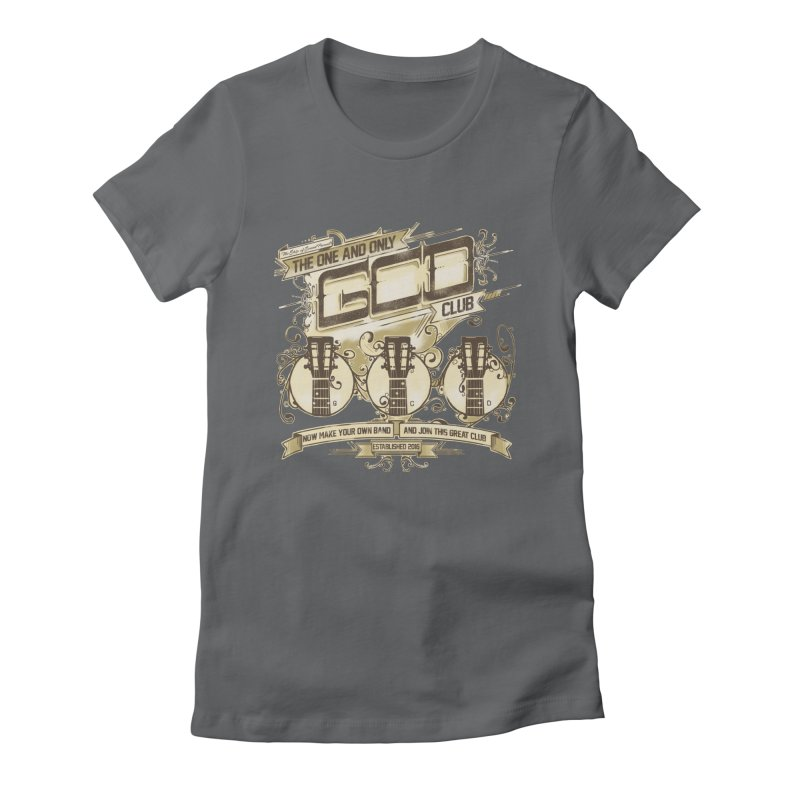 The Great Club Women's Fitted T-Shirt by JQBX Store - Listen Together
