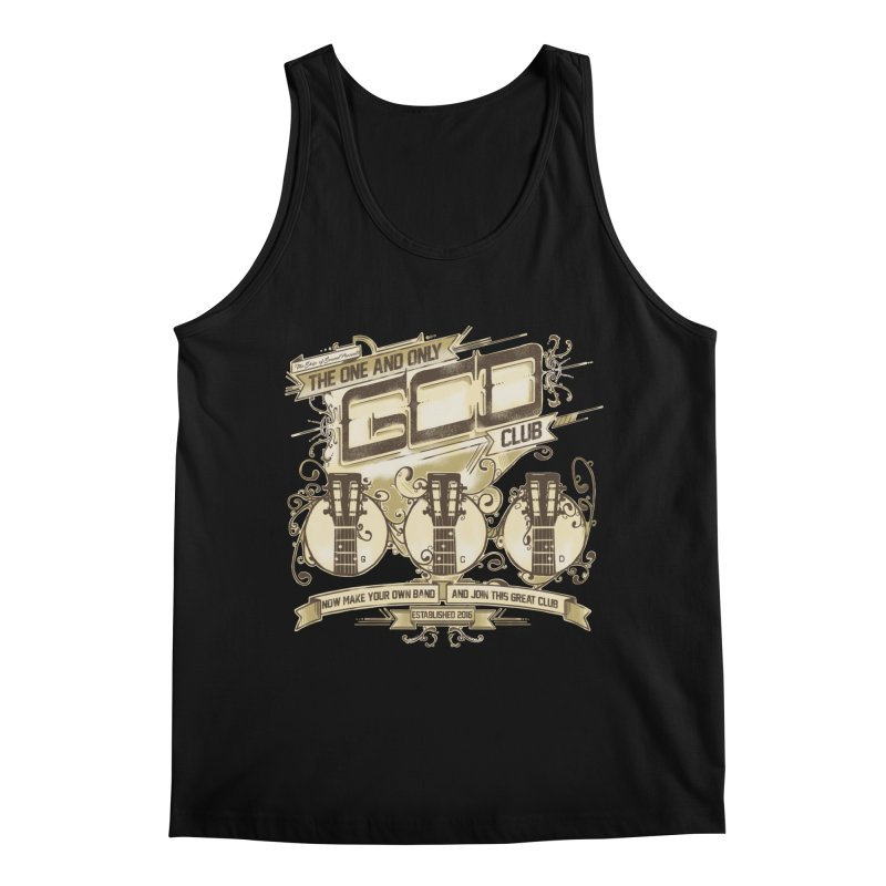 The Great Club Men's Regular Tank by JQBX Store - Listen Together