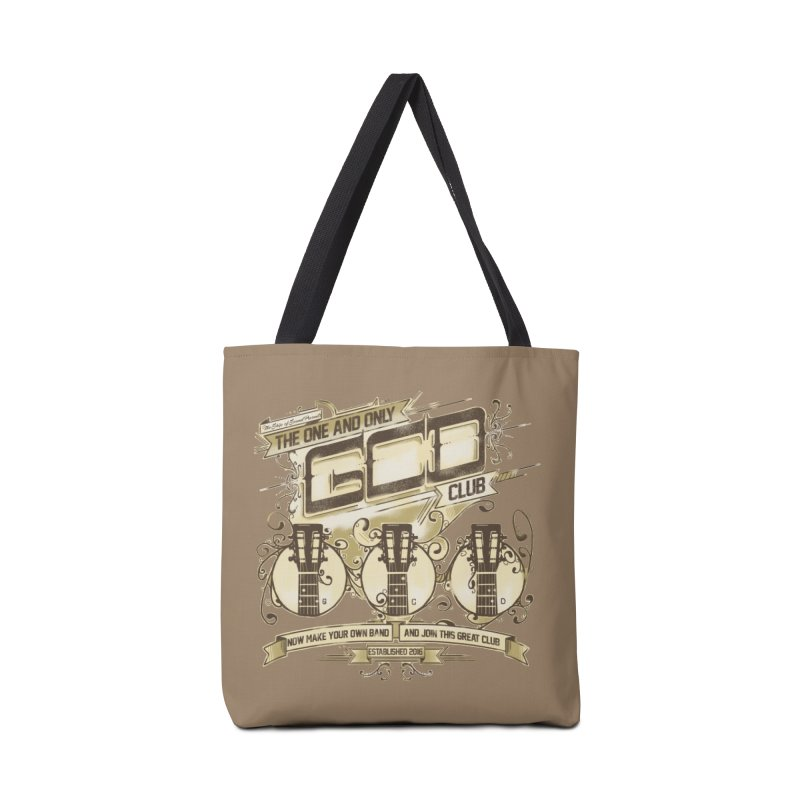 The Great Club Accessories Tote Bag Bag by JQBX Store - Listen Together