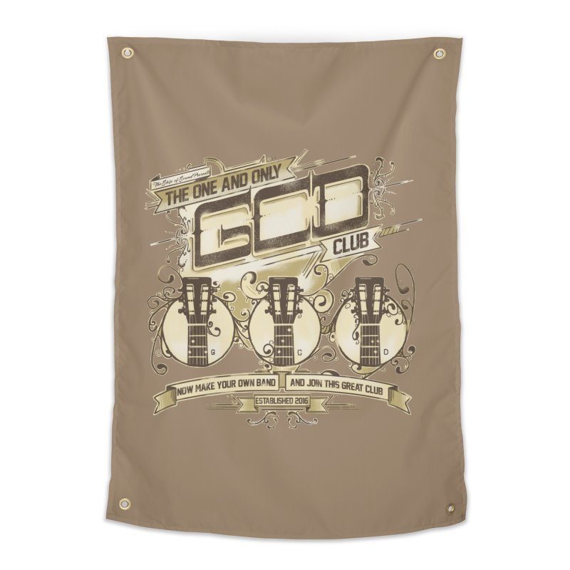 The Great Club Home Tapestry by JQBX Store - Listen Together