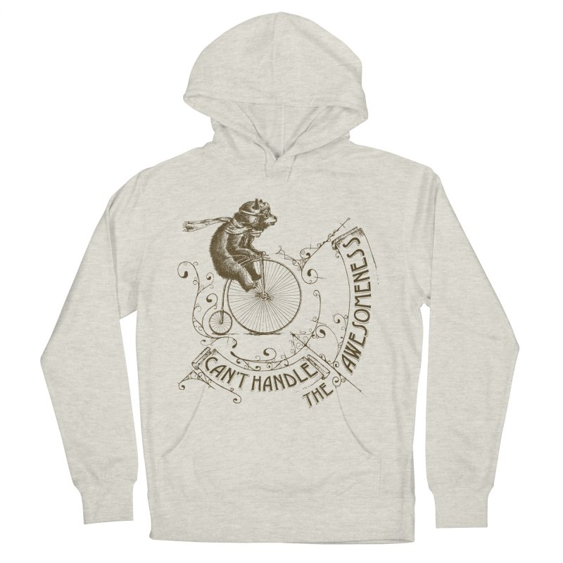 Take a walk on the awesome side Men's French Terry Pullover Hoody by JQBX Store - Listen Together