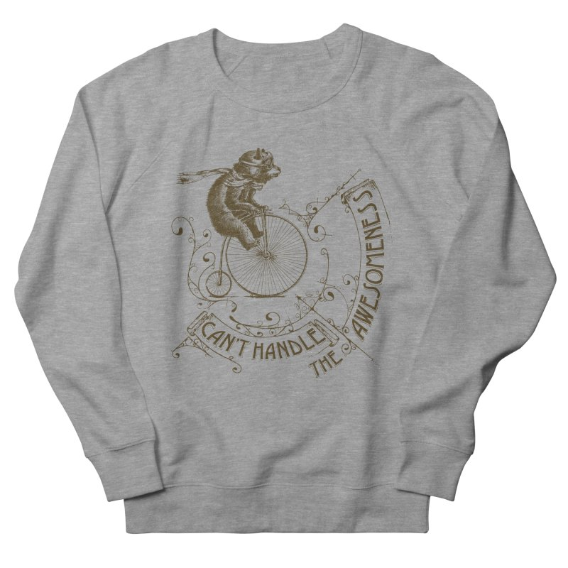 Take a walk on the awesome side Men's French Terry Sweatshirt by JQBX Store - Listen Together
