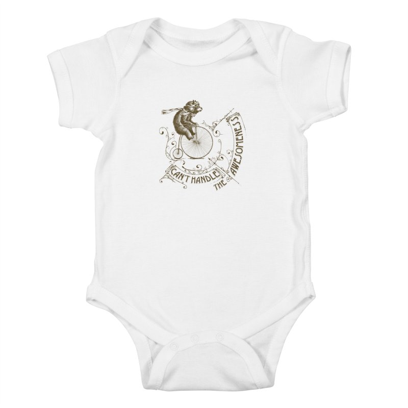 Take a walk on the awesome side Kids Baby Bodysuit by JQBX Store - Listen Together