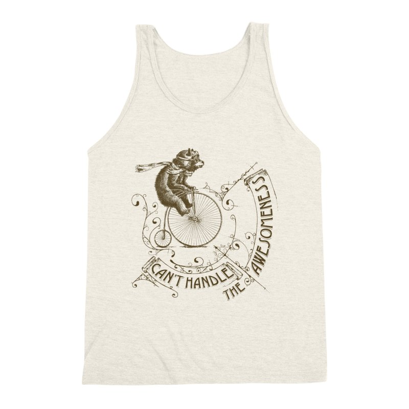 Take a walk on the awesome side Men's Triblend Tank by JQBX Store - Listen Together