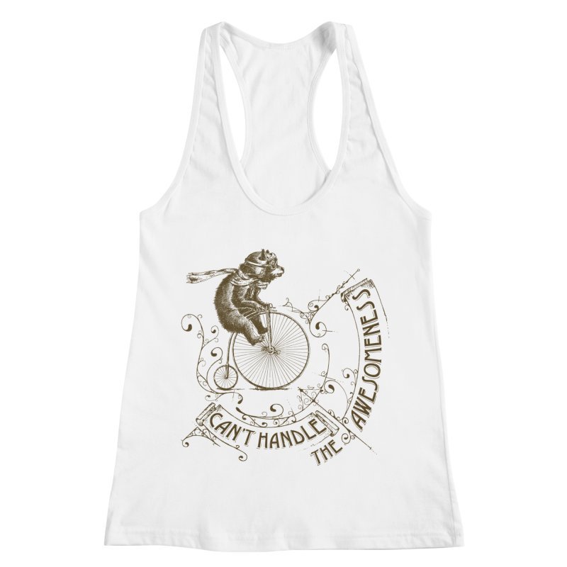 Take a walk on the awesome side Women's Racerback Tank by JQBX Store - Listen Together