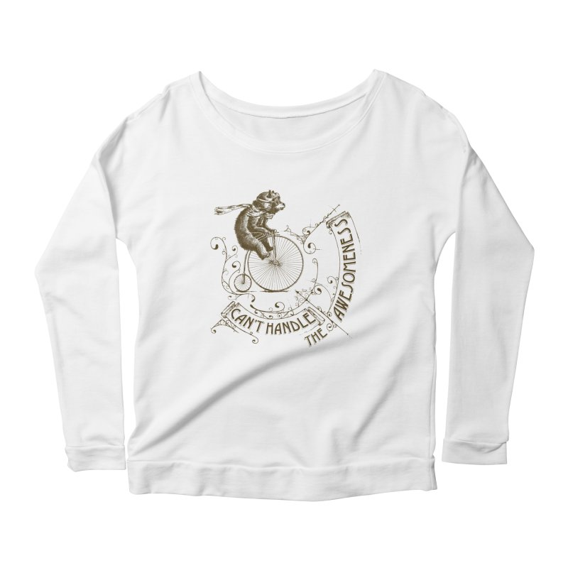 Take a walk on the awesome side Women's Longsleeve T-Shirt by JQBX Store - Listen Together