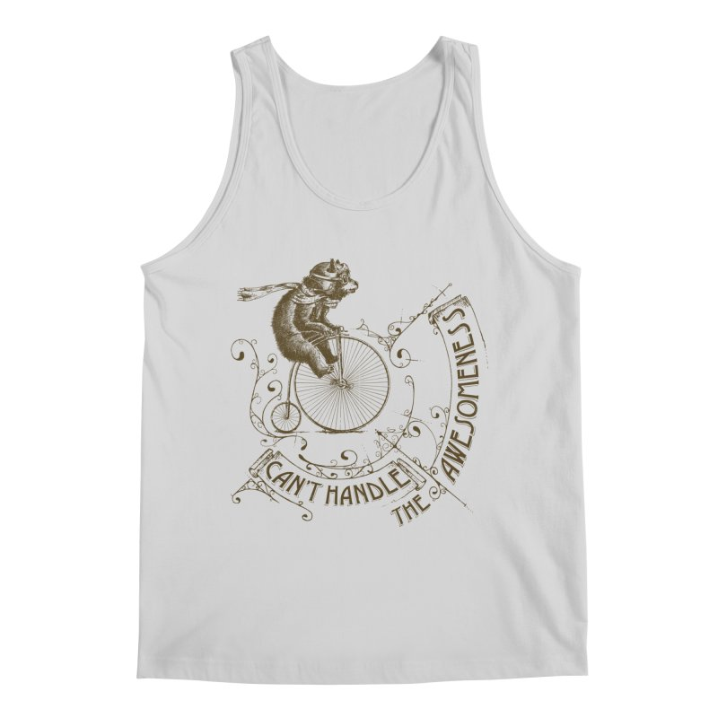 Take a walk on the awesome side Men's Regular Tank by JQBX Store - Listen Together