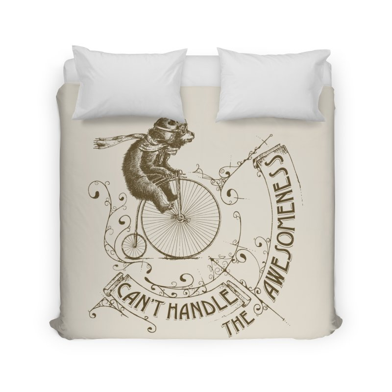 Take a walk on the awesome side Home Duvet by JQBX Store - Listen Together
