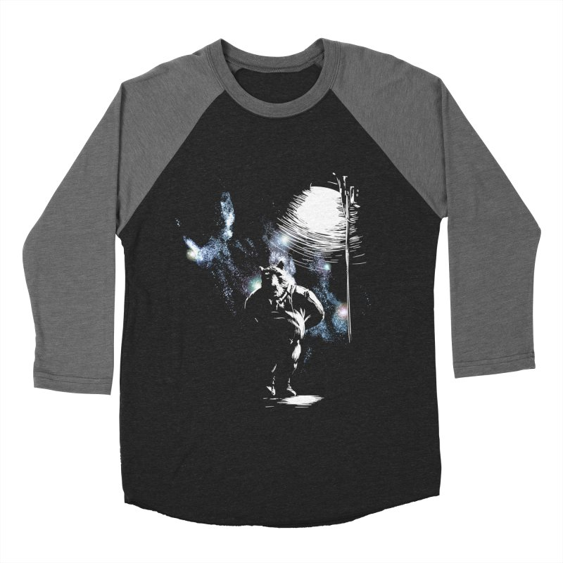 Listening to the stars Women's Baseball Triblend Longsleeve T-Shirt by JQBX Store - Listen Together