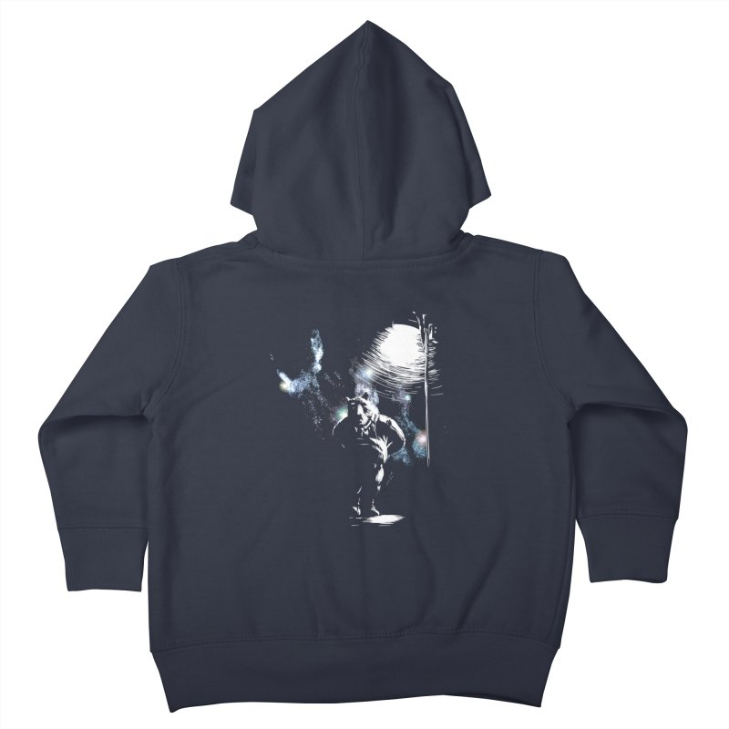 Listening to the stars Kids Toddler Zip-Up Hoody by JQBX Store - Listen Together