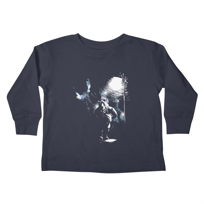 Listening to the stars Kids Toddler Longsleeve T-Shirt by JQBX Store - Listen Together