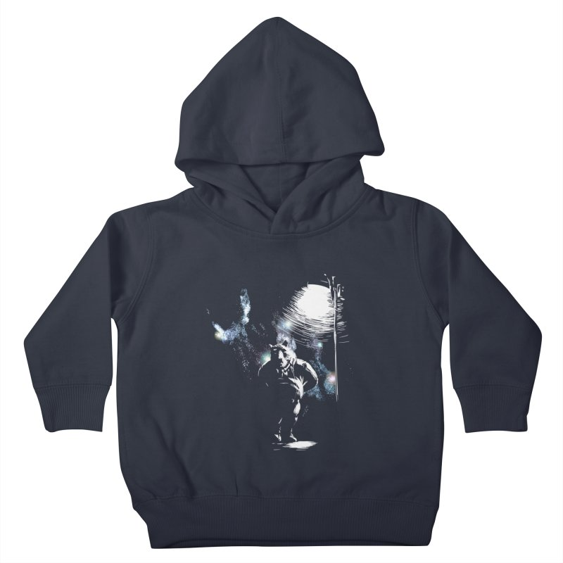 Listening to the stars Kids Toddler Pullover Hoody by JQBX Store - Listen Together