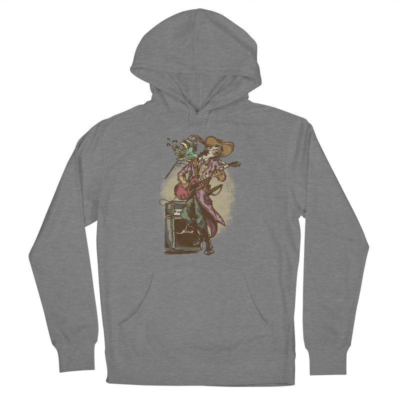 Anyone can play guitar Women's Pullover Hoody by JQBX Store - Listen Together