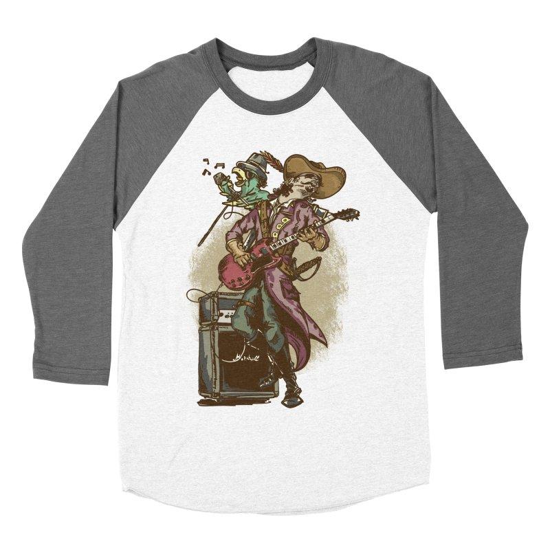 Anyone can play guitar Women's Baseball Triblend Longsleeve T-Shirt by JQBX Store - Listen Together