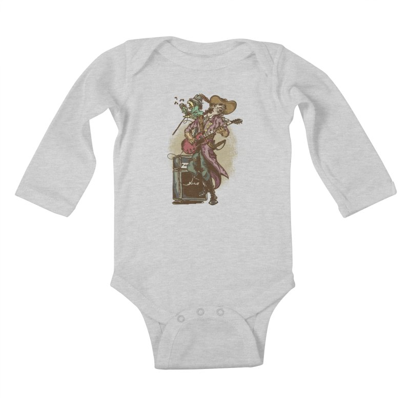 Anyone can play guitar Kids Baby Longsleeve Bodysuit by JQBX Store - Listen Together