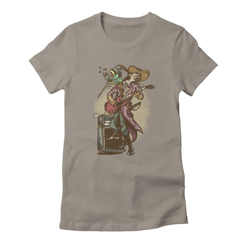 Anyone can play guitar Women's T-Shirt by JQBX Store - Listen Together
