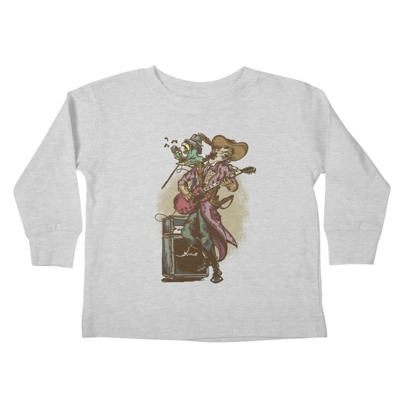 Anyone can play guitar Kids Toddler Longsleeve T-Shirt by JQBX Store - Listen Together