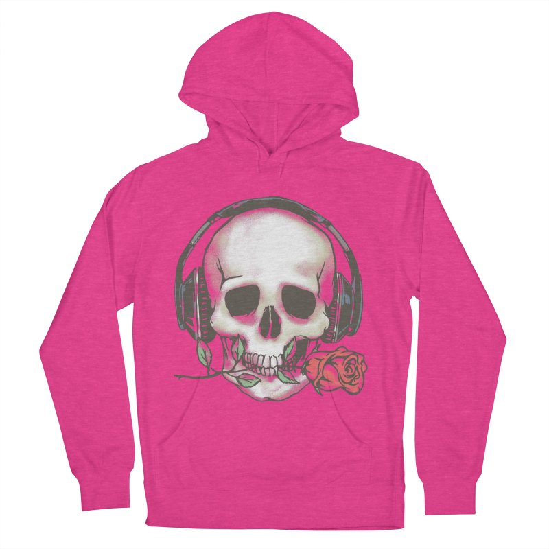Musical Muse Men's French Terry Pullover Hoody by JQBX Store - Listen Together