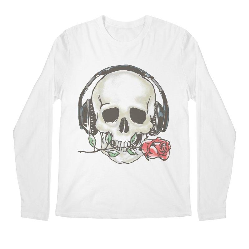 Musical Muse Men's Regular Longsleeve T-Shirt by JQBX Store - Listen Together