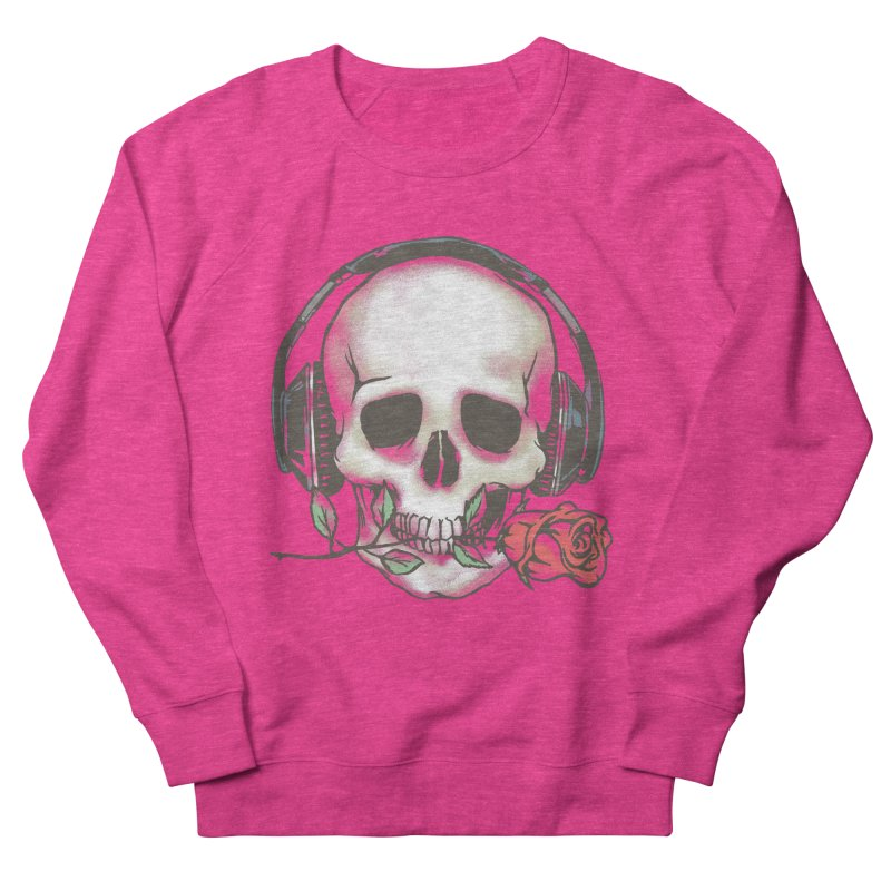 Musical Muse Women's French Terry Sweatshirt by JQBX Store - Listen Together
